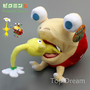 Pikmin-Bulborb-Chappy-Yellow-Flower-Soft-Plush-Stuffed-Doll-Toy-10-039-039-Xmas-Gift