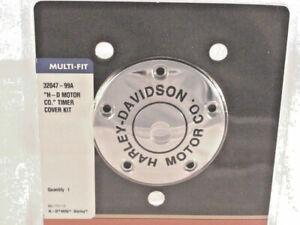 Harley-Davidson-Motor-Co-Zuendungsdeckel-Timer-Cover-Zuendung-32047-99A
