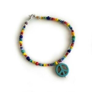 Rainbow-Peace-Bracelet-7-1-2-inch-BR379