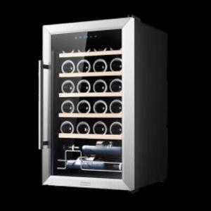 Vinoteca CECOTEC Vinoteca GrandSommelier 24000 Inox Compressor / 24 BOTELLAS