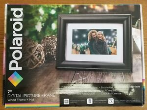 Polaroid 7 Digital Wood Picture Frame Pdf 750w New Opened Box