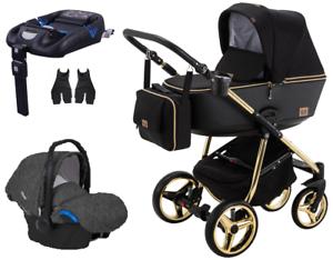 Adamex-Reggio-Special-Edition-stroller-pram-puschair-4in1-car-seat-isofix-base