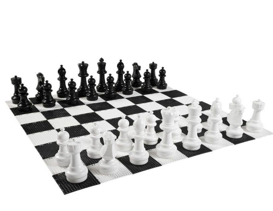 Basic Garden Chess Pieces - Chessmen
