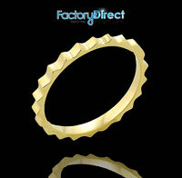 Gold Spiked Knuckle Ring Size 1, 2, 3, 4, 5, 6, 7, 8
