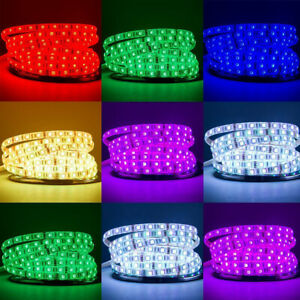 5M-10M-15M-20M-12V-3528-5050-5630-LED-Flexible-Strip-Light-Warm-White-RGB-Tape