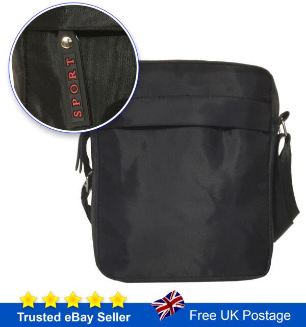 Designer Leather Mens  Ladies Cross Body Shoulder Work Messenger Bag Travel Case