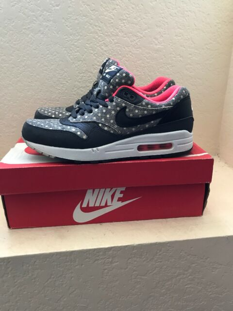 Nike Air Max 1 Ltr Premium Polka Dot 705282 002 Mens Sizes