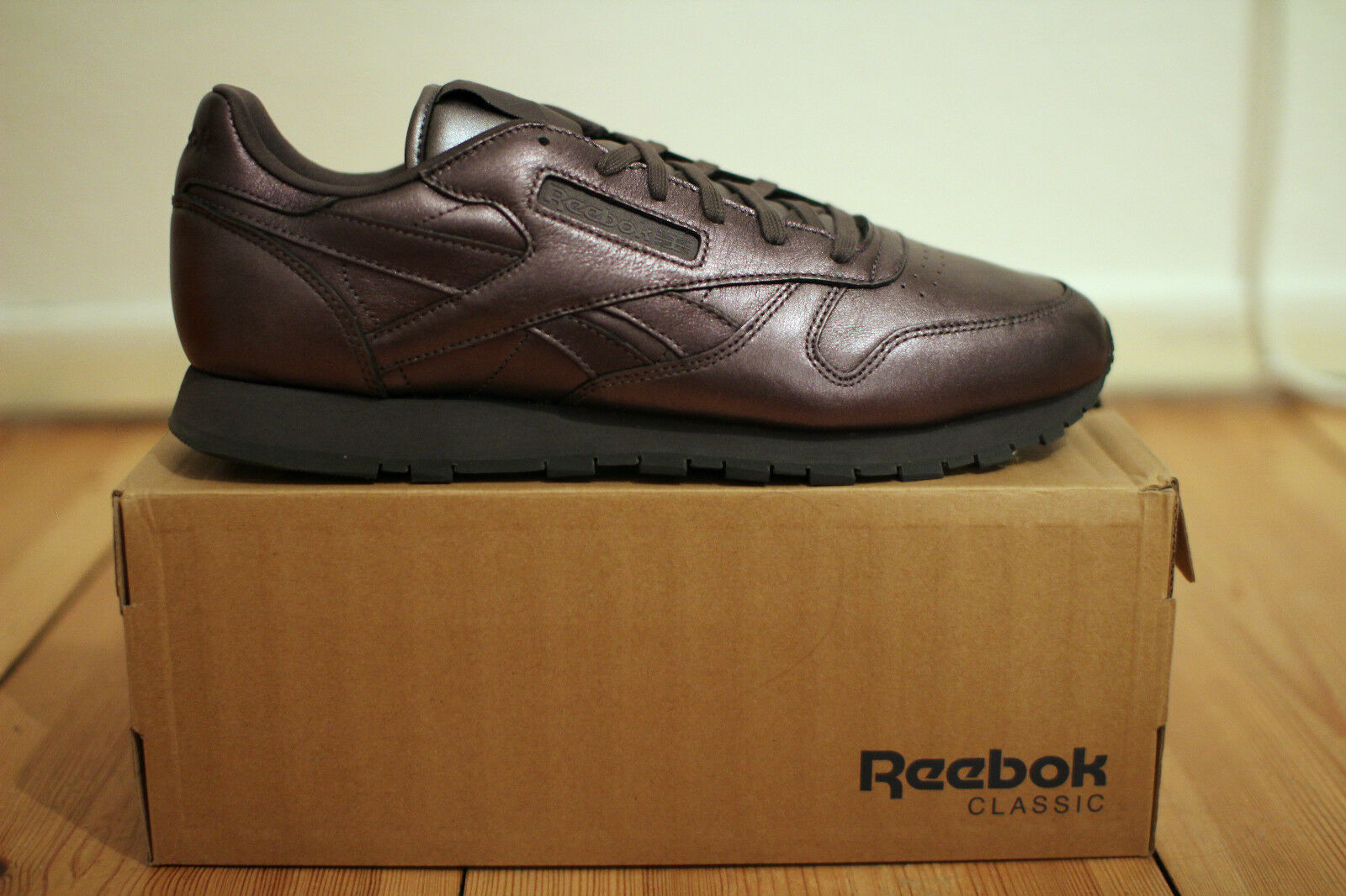 Reebok Classic Leder Spirit x Face Stockholm Bronze Gr. 44 OVP UK 9,5 NEU & OVP 44 60b8a6