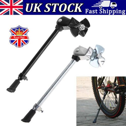 Heavy Duty Adjustable Bicycle Alloy Stand Side Kick Road Bike Side Kickstand UK
