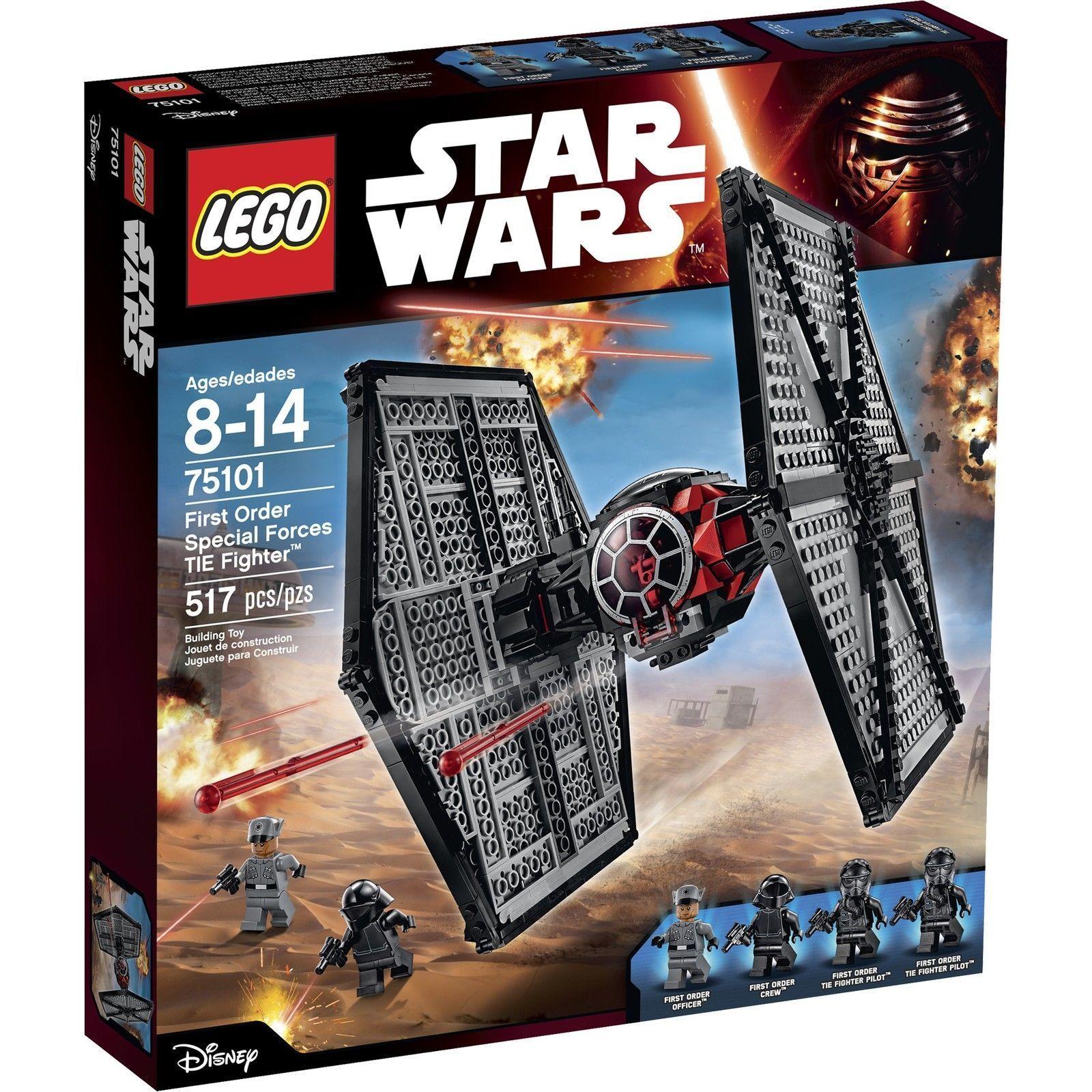 LEGO ® estrella guerras ™ 75101 primero Order specialee  Forces TIE FIGHTER ™ Nuovo Scatola Originale nuovo MISB  sport dello shopping online