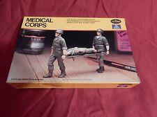 """1/35 Italeri Testors US Medical Corps Medic Stretcher # 848 """"1983"""" F/S Bag OB"""