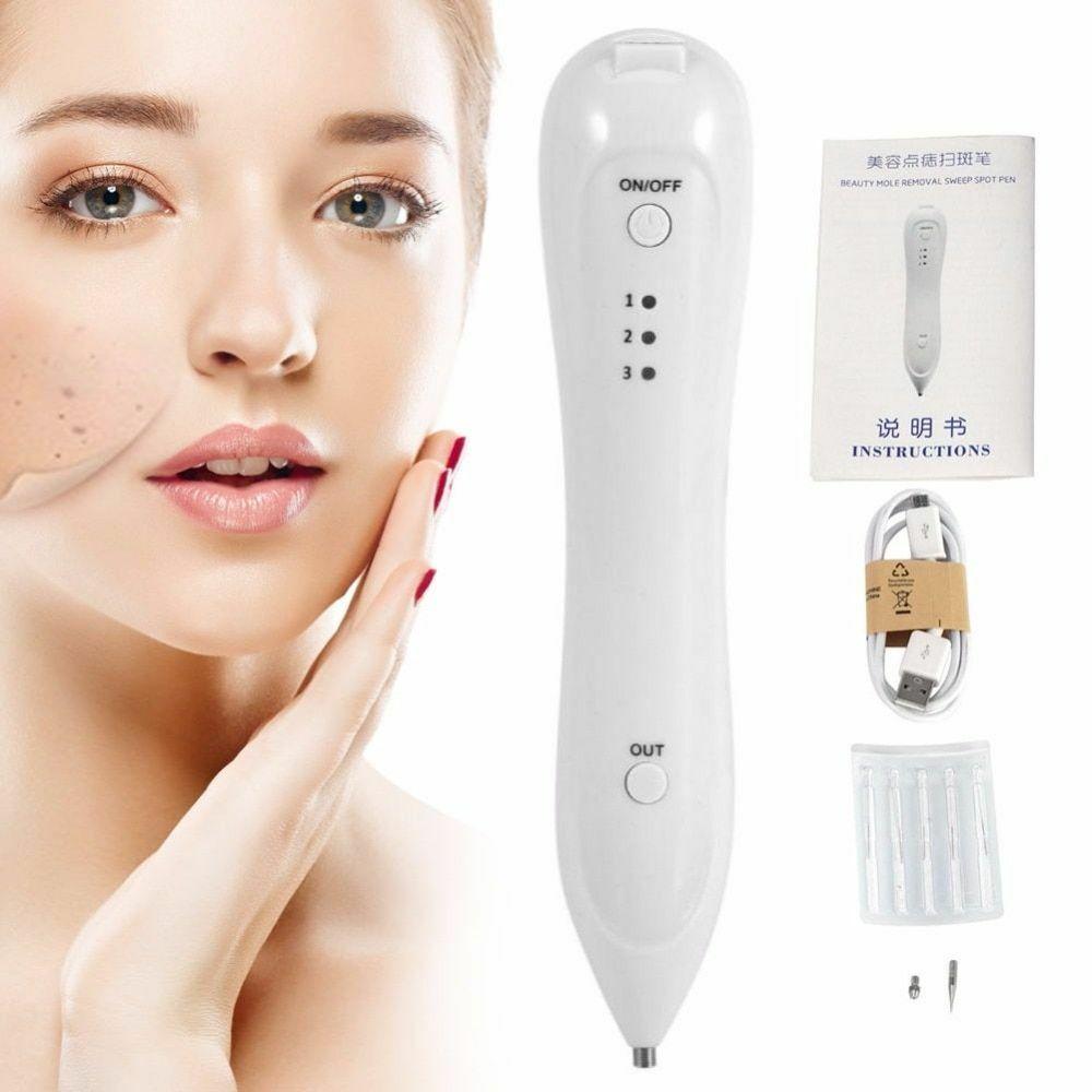 Skin Care Point Pen Mole Removal Dark Spot Remover Pen Skin Wart Tattoo Removal 2