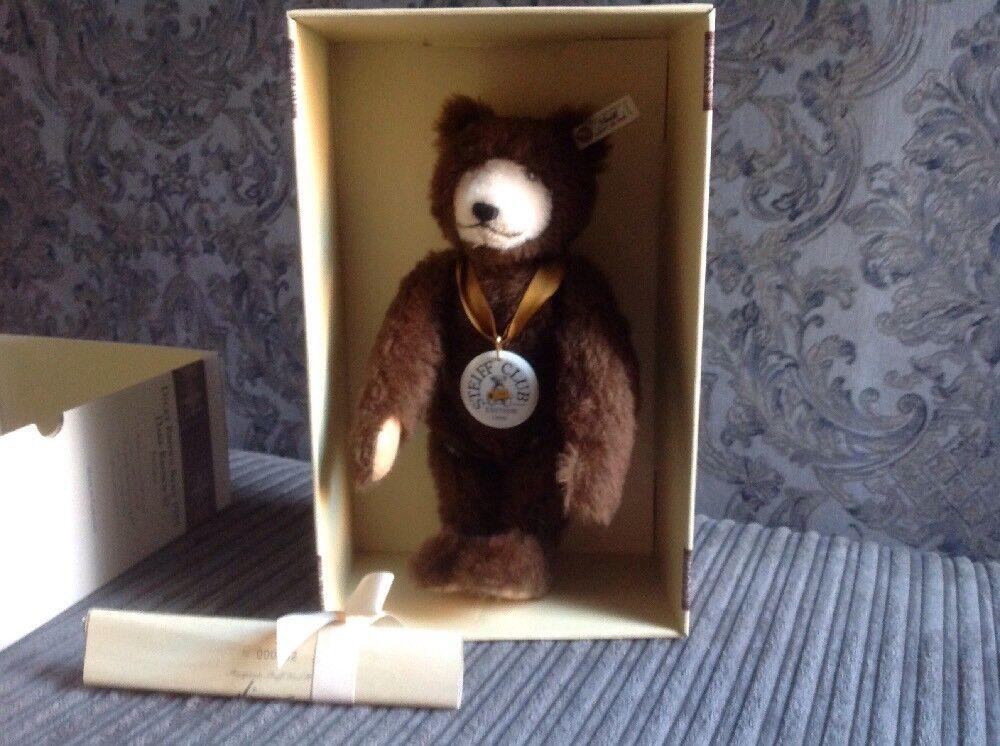 Steiff Club Edition Dicky braun Bear, 1996 1997, braun Mohair Teddy Bear.