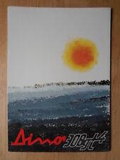 FERRARI DINO 308 GT4 original 1974 Sales Brochure - #98/74
