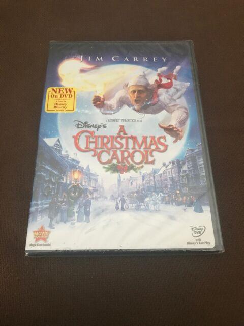Disney's a Christmas Carol NEW DVD!! Ac-3/Dolby Digital Dolby Dubbed Jim Carrey! | eBay