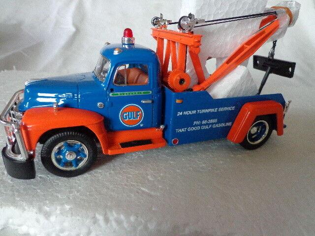 1st Gear 1955 Diamond T Mobil Gas Tow Truck Service Ebay