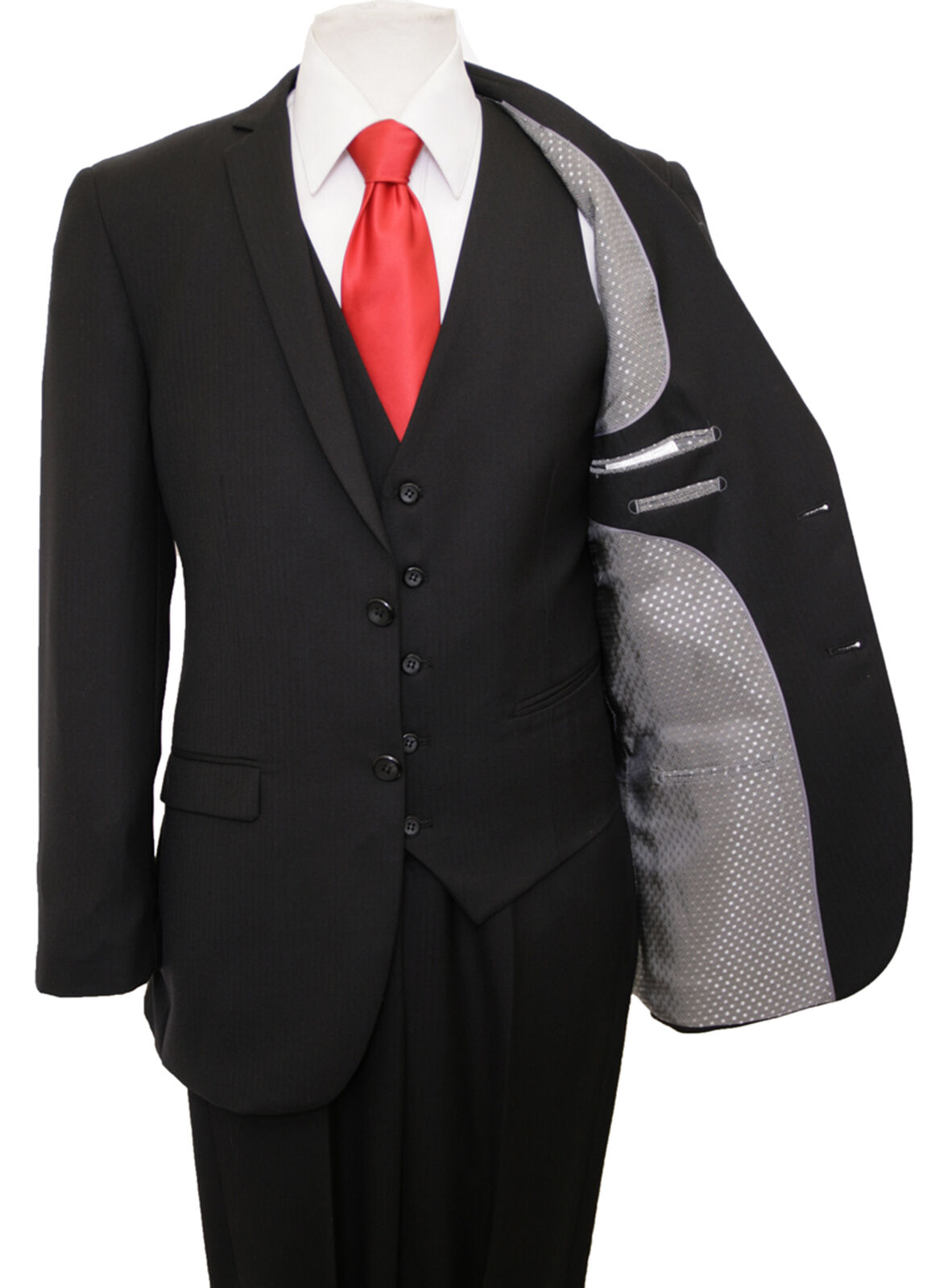 MODERN ULTRA SLIM FIT herren TONE ON TONE SUIT FORMAL PROM DANCE GROOMSMEN OFFICE