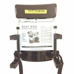 Breakaway seat box backrest conversion