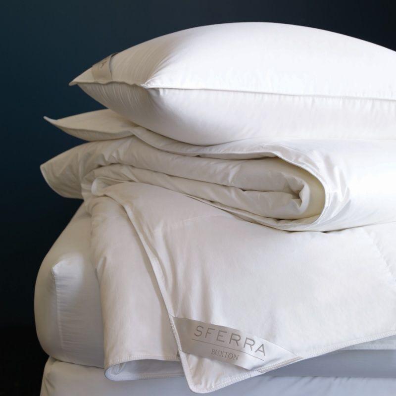 Sferra Buxton Collection Queen Soft Blanc Oreiller
