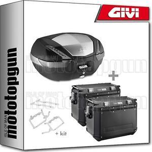 GIVI Case MAXIA 4 V56n Side-cases Trekker Trk33n Honda NC 750 X 2020 20