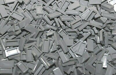 Aufrichtig Lego® Konvolut 3069 B Dunkelgraue Fliesen 1x2 Tile 40 Stück Neu New