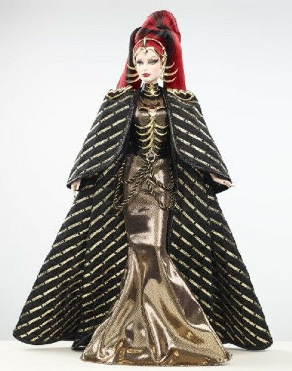 QUEEN OF THE CONSTELLATIONS Barbie Gold Label in Shipper NEW NRFB