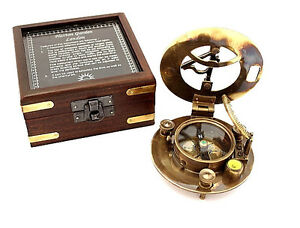 Maritime-Pocket-Sundial-Compass-with-Box-Hatton-Garden-sundial-compass-w-Box