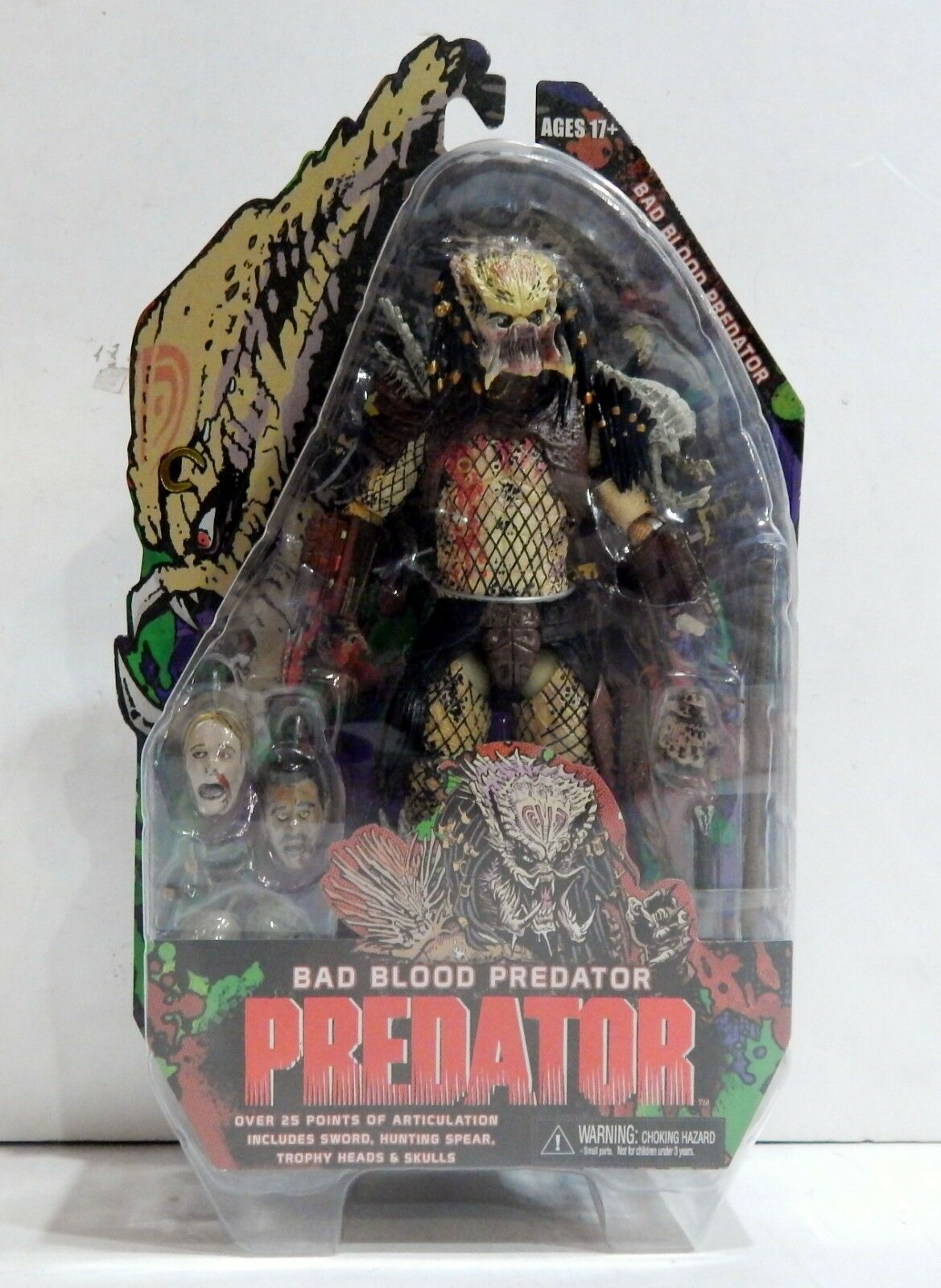 NECA REEL TOYS 2014 BAD BLOOD ProtATOR SEALED NEW