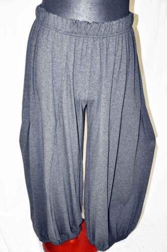 plissé Lagenlook xl Pantalon 48 raffiné 46 52 xxl 50 jersey antrazith ° box ° ballon 5ZwqqxTX