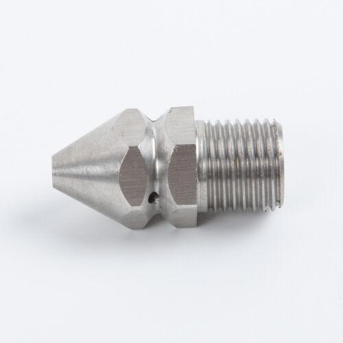 1 X 0.6cm Hochdruckreiniger Abfluss Sewer Reinigung Rohr Jetter Sprühdüse 4xjet