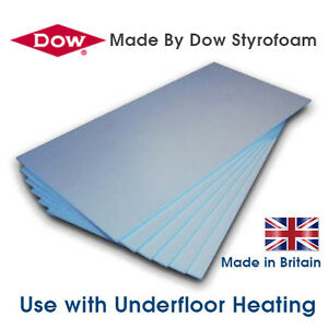 MM STYROFOAM UNDERFLOOR UNDER FLOOR HEATING INSULATION XPS BOARDS - Styrofoam floor mats