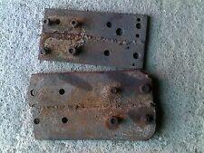 2 Farmall 460 560 350 300 Ih Tractor 8 Hole Fender Extension Bracket Plates Ampbo