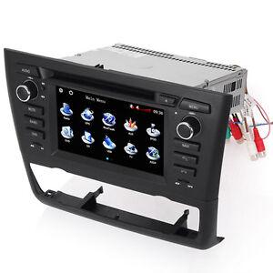 car radio navigation satnav dvd stereo for bmw 1 series. Black Bedroom Furniture Sets. Home Design Ideas