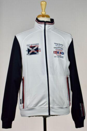Paul /& Shark Royal Yachting Mens Jacket Pants Shark Fit Jogging Suit L New 12//61