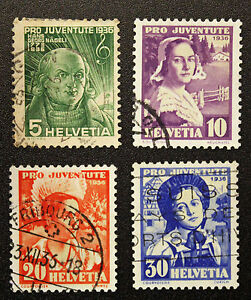 Stamp-Switzerland-Yvert-and-Tellier-N-298-IN-301-I-Obl-Cyn16