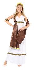 Dea Greca Toga Costume Con Fascia Ancient ROMAN GRECIAN OUTFIT