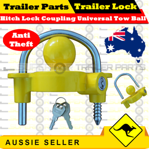 Hitch-Lock-Coupling-Universal-Tow-Ball-Caravan-Camping-Anti-Theft-Trailer-Lock