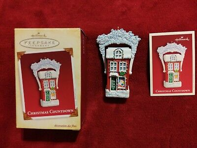 HALLMARK ORNAMENT CHRISTMAS COUNTDOWN 2005 15012872071 | eBay