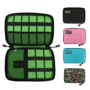 Portable-Travel-Zipper-USB-Cable-Storage-Bag-Organizer-Oxford-Phone-Charger-Case