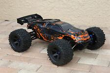 Traxxas trx8611a E-Revo 2.0 VXL carrosserie Orange Complet