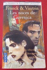 Soft-Cover-French-Pocket-Book-Les-Noces-de-Guernica-Franck-amp-Vautrin