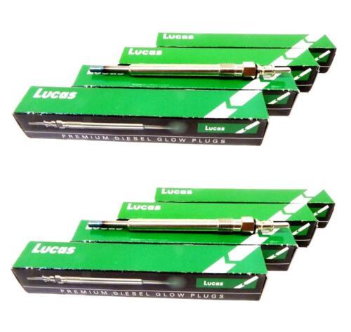 8x Bujia precalentamiento w211 e400 s400 e 400 CDI w463 g 400 g400 CDI w220 s 400 CDI