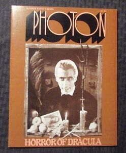1977 PHOTON Horror Magazine #27 VF- 7.5 Christopher Lee ...