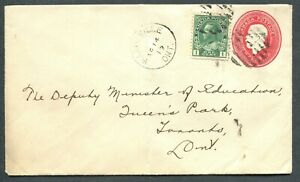 ONTARIO-TOWN-CANCEL-034-WARDSVILLE-034-ON-COVER