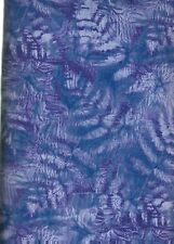 Imprints De-2044 Periwinkle Seattle Bay    100% Cotton Fabric  priced by  1/2 yd