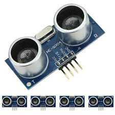 5 Pcs HC-SR04 Ultrasonic Module Distance Measuring Transducer Sensor for Arduino