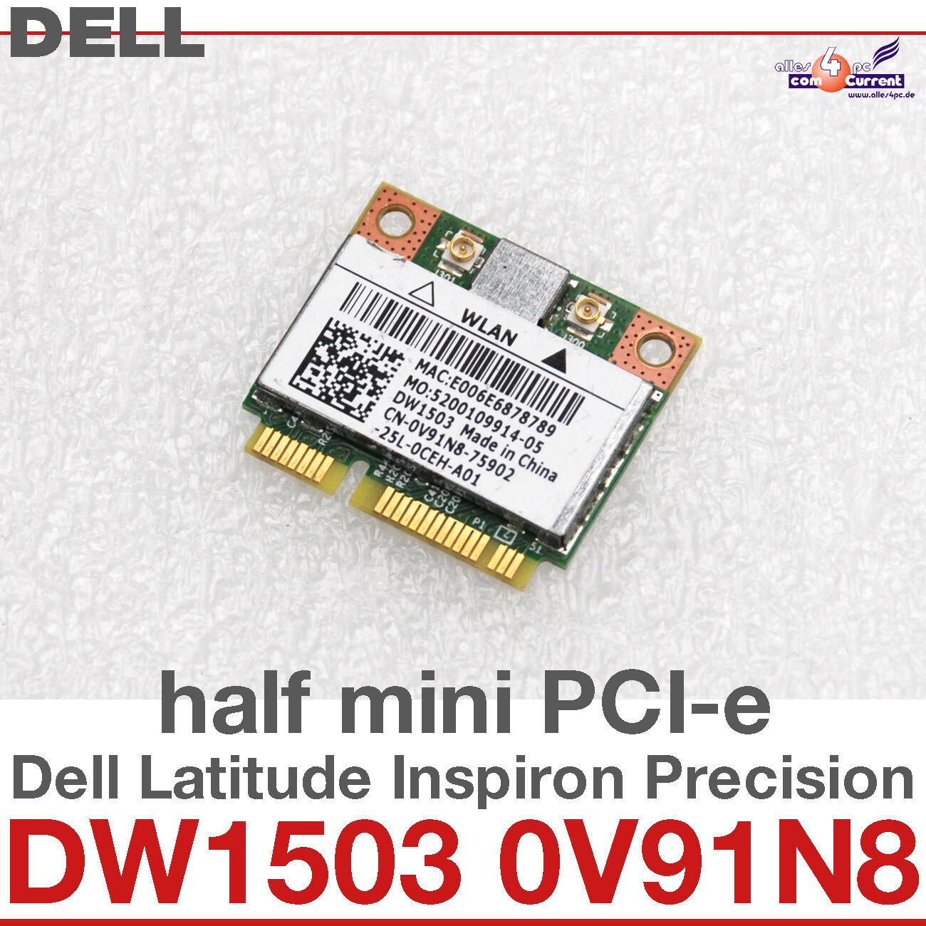 wi-Fi WLAN Wireless Card Network Card Dell Mini Pci-E DW1503 0V91N8 #D31