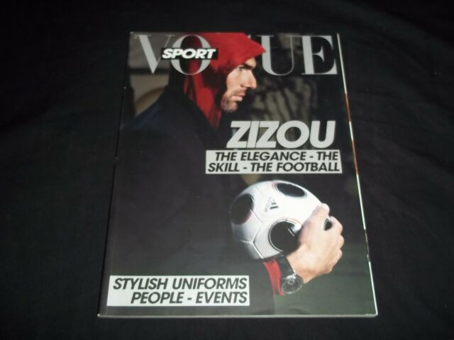 2008 JULY VOGUE SPORT ITALIA MAGAZINE - ZIZOU - FASHION - F 4442