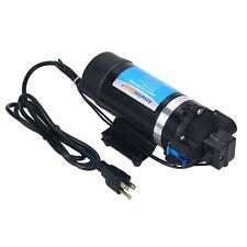 Water Pressure Diaphragm Pump 110v Ac 160psi Self Priming For Boat Marine Rv
