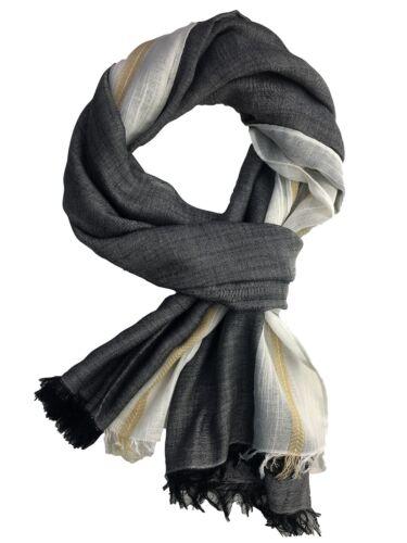 New Ladies Stripe Scarves Womens Head Scarves New Denim Style Hijab Snood